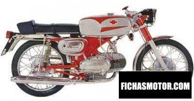 Ficha técnica Motobi 125 sprite 5 1970