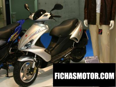 Ficha técnica Motobi adiva 125 2004