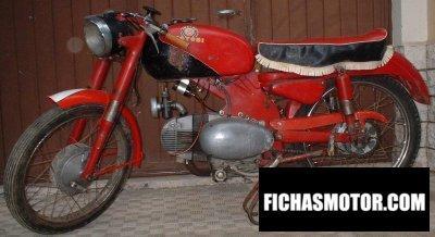 Ficha técnica Motobi catria lusso 1955