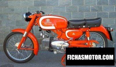 Ficha técnica Motobi catria lusso 1960