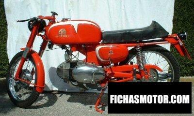 Ficha técnica Motobi imperiale sport 1956