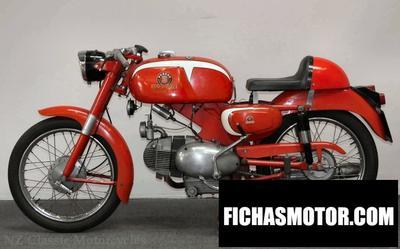 Ficha técnica Motobi imperiale sport 1958
