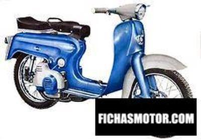 Imagen moto Motobi picnic 125 scooter año 1965