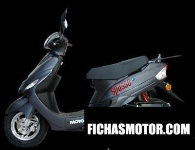 Ficha técnica Motom spasso 50 2009
