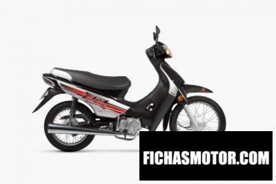 Ficha técnica Motomel Blitz 110 V8 2020