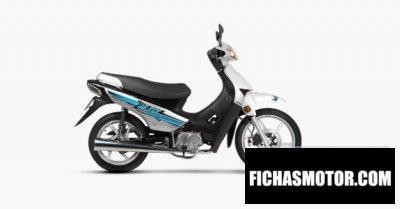 Ficha técnica Motomel Blitz 110 V8 Full 2020