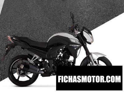 Ficha técnica Motomel Sirius 250 2020