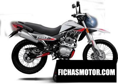 Ficha técnica Motomel Skua 150 Silver Edition 2020