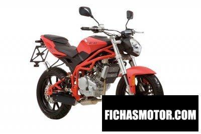 Ficha técnica Motorhispania kn1 125 2012