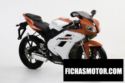 Ficha técnica Motorhispania rx 125r 2010