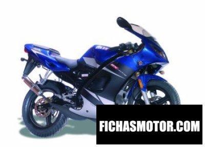 Ficha técnica Motorhispania rx 50r 2009