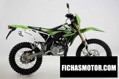 Imagen moto Motorhispania ryz enduro año 2008