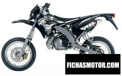 Ficha técnica Motorhispania ryz super motard 2006