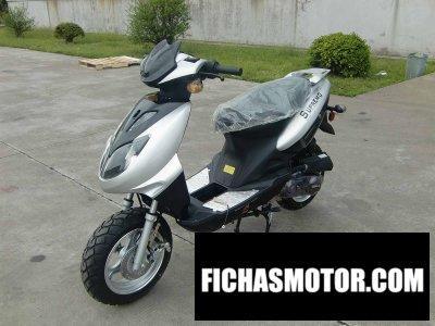 Ficha técnica Motorino supremo 150 2016