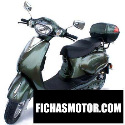 Ficha técnica Motorino xpr 2016