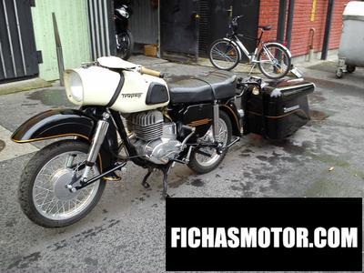 Ficha técnica Muz es 250-2 trophy (with sidecar) 1972