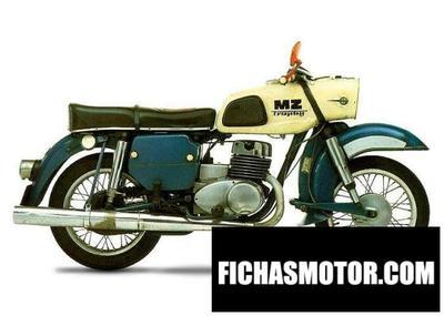 Ficha técnica Muz ets 250 trophy sport 1971