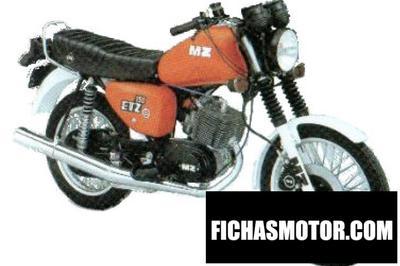 Ficha técnica Muz etz 150 1986