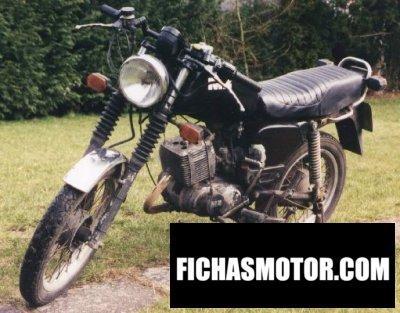 Ficha técnica Muz etz 150 1987