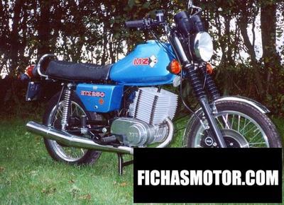 Ficha técnica Muz etz 250 1988