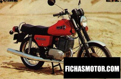 Ficha técnica Muz etz 250 (with sidecar) 1984