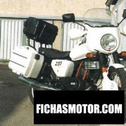 Imagen moto Muz etz 251 (with sidecar) 1989