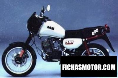 Ficha técnica Muz etz 251 (with sidecar) 1991