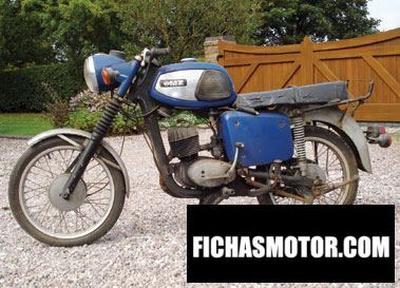 Ficha técnica Muz ts 125 1977