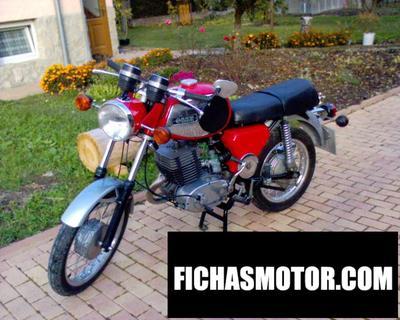 Ficha técnica Muz ts 125 1979