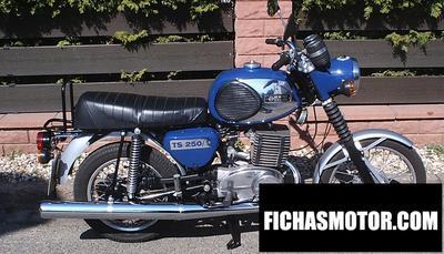 Ficha técnica Muz ts 250-1 (with sidecar) 1978