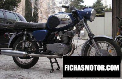 Ficha técnica Muz ts 250 1975