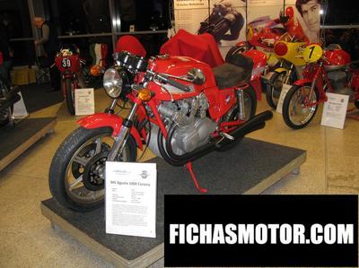 Ficha técnica Mv agusta 1000 corona 1978