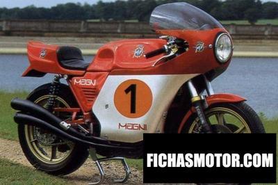 Ficha técnica Mv agusta 1000 corona 1980