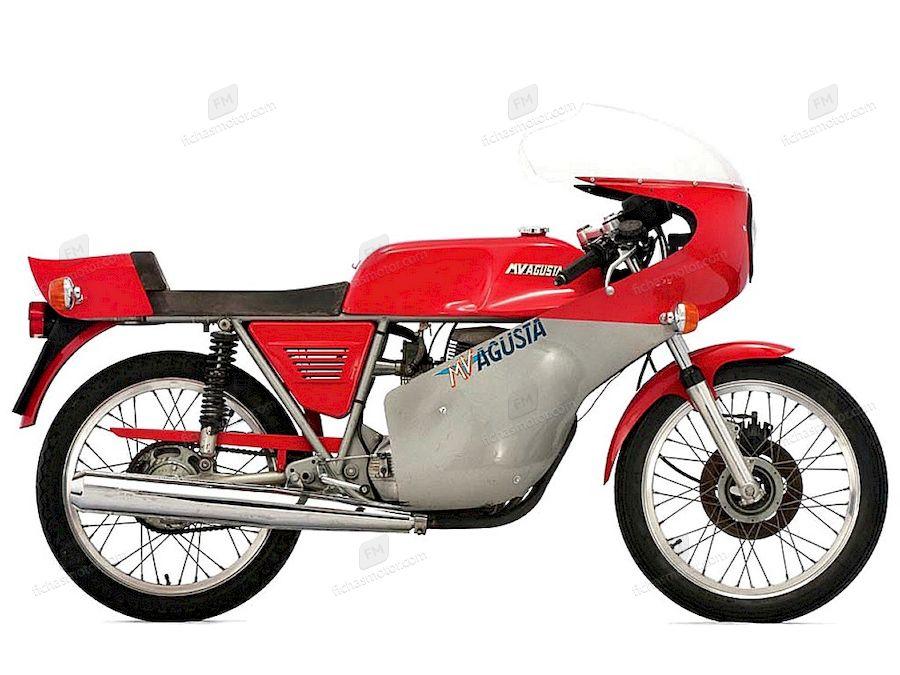 Ficha técnica Mv agusta 125 s 1977