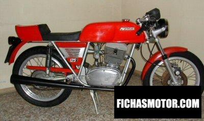 Ficha técnica Mv agusta 125 s 1978