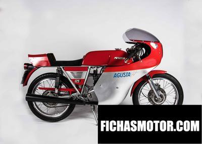 Ficha técnica Mv agusta 125 ss 1978