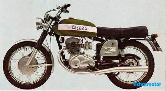 Ficha técnica Mv agusta 350 gt 1971