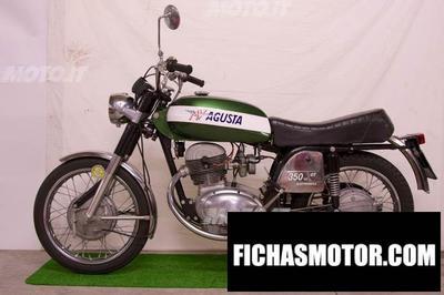 Ficha técnica Mv agusta 350 gt 1974