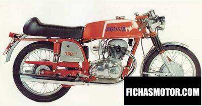 Ficha técnica Mv agusta 350 s 1972