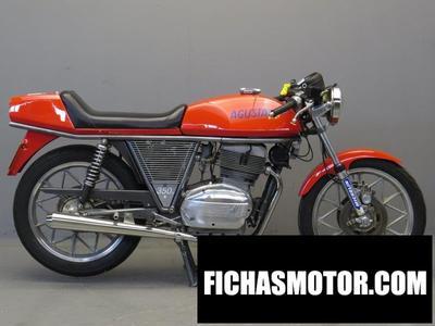 Ficha técnica Mv agusta 350 s 1977