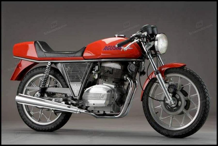 Ficha técnica Mv agusta 350 s 1978