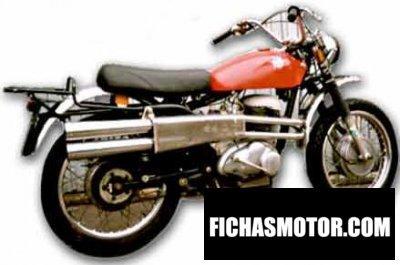 Ficha técnica Mv agusta 350 scrambler 1974