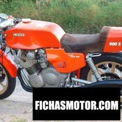 Imagen moto Mv agusta 900 s arturo magni - cento valli 1976