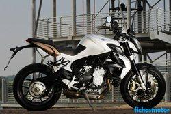 Imagen moto Mv agusta brutale 675 2012