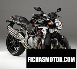 Imagen moto Mv agusta brutale 910 r 2010