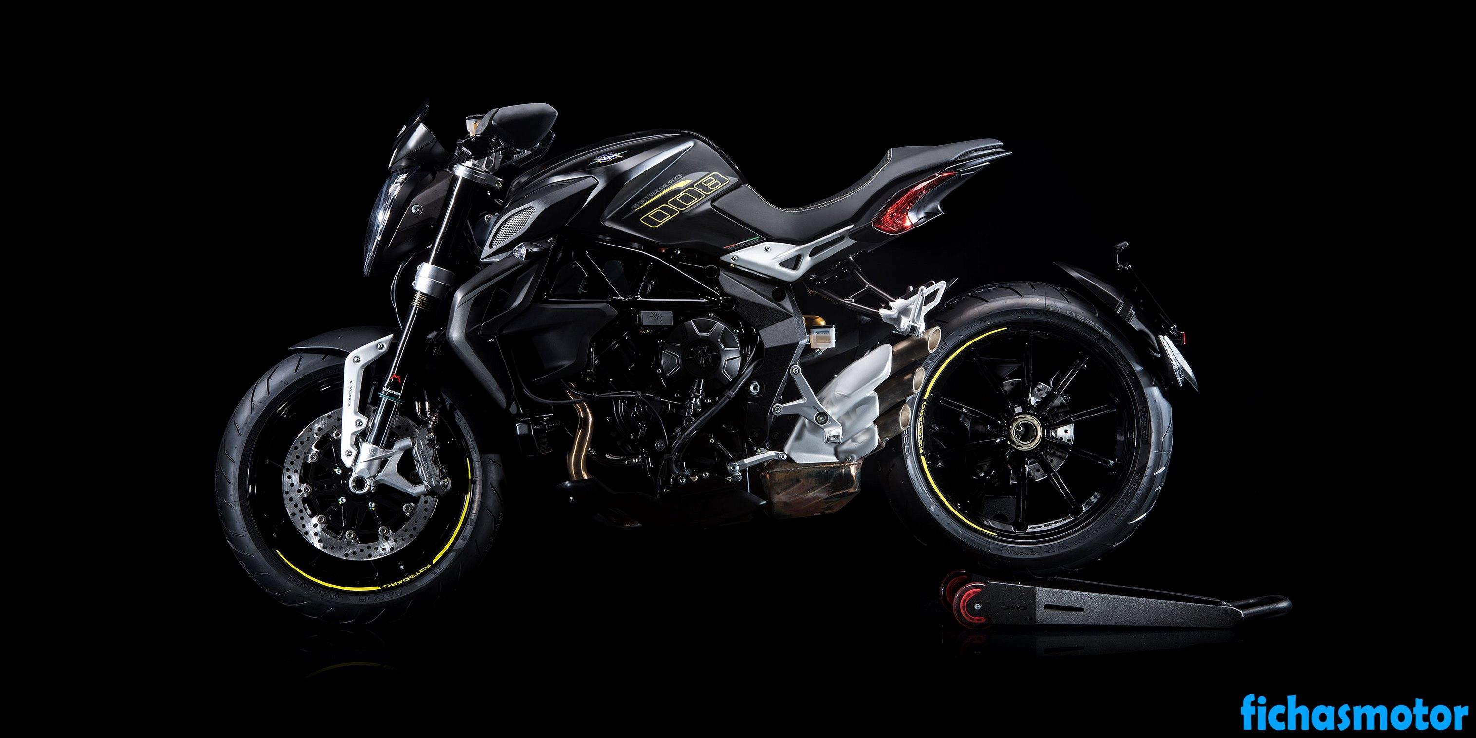 Ficha técnica Mv agusta dragster 800 2018