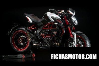 Ficha técnica Mv agusta dragster 800 rr lh44 2017