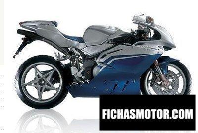 Ficha técnica Mv agusta f4 1000 s 2009