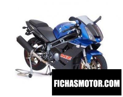 Ficha técnica Mz 1000 s 2009