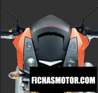 Ficha técnica Mz 1000 sf streetfighter 2008